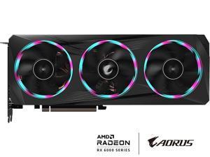 GIGABYTE AORUS Radeon RX 6700 XT ELITE 12G Graphics Card, WINDFORCE 3X Cooling System, 12GB 192-bit GDDR6, GV-R67XTAORUS E-12GD Video Card