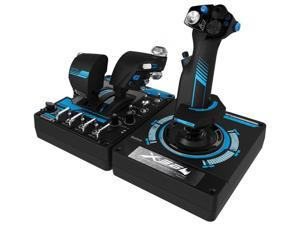 Saitek Pro Flight X-56 Rhino H.O.T.A.S. (Hands on Throttle and Stick) System for PC