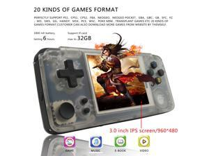 Tony 2.2V system RG puls open source game machine nostalgic portable GBA handheld 64g memory 5000 in one