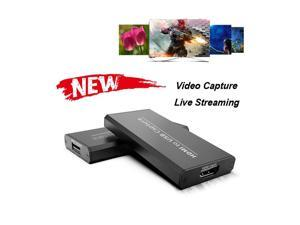 Y&H 4K Video Capture Card HD 1080P Broadcast Live, Record via DSLR, Camcorder, Camera, PS4, Xbox one, Wii U, Nintendo Switch, Compact HDMI Capture Device