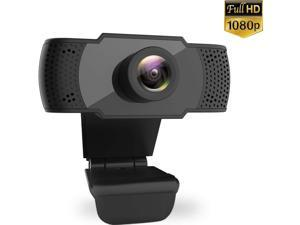 easyday 1080P Webcam with Microphone, USB 2.0 PC Laptop Desktop Web Camera for Video Calling Studying Online Class Conference Recording, Gaming