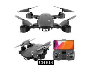 Drone,Foldable Drone with 720P Camera, Quadcopter with Brushless Motor, Auto Return Home, Follow Me, 30 Minutes Flight Time, Long Control Range,UAV aerial photography 720P professi