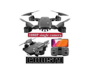 Christy,Foldable Drone with1080P Camera, Quadcopter with Brushless Motor, Auto Return Home, Follow Me, 50 Min Flight Time, Long Control Range,UAV aerial photography 1080P professi, Give away a battery