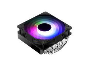JONSBO CR-701 Colorful Down-flow Radiator 12Cm 5 Heat Pipes Silent Fan CPU Cooling Support Intel LGA 1200/775/115X,AMD AM2/AM2+/AM3/AM3+/AM4/FM1/FM2/FM2+