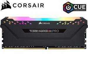 CORSAIR Vengeance RGB Pro 8GB 288-Pin DDR4 SDRAM DDR4 3000 (PC4 24000) Intel XMP 2.0 Desktop Memory Model CMW8GX4M2D3600C18,Black