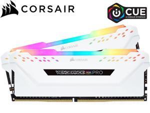 CORSAIR Vengeance RGB Pro 32GB (2 x 16GB) 288-Pin DDR4 SDRAM DDR4 3600 (PC4 28800) Intel XMP 2.0 Desktop Memory Model CMW32GX4M4D3600C18,White
