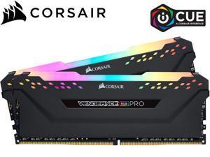 CORSAIR Vengeance RGB Pro 32GB (2 x 16GB) 288-Pin DDR4 SDRAM DDR4 3600 (PC4 28800) Intel XMP 2.0 Desktop Memory Model CMW32GX4M4D3600C18,Black
