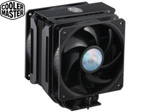 Cooler Master MasterAir MA612 Stealth CPU Air Cooler,Dual SickleFlow 120 V2 Fans, 6 Heat Pipes,Push-Pull,Nickel Plated Base,  Unlimited RAM Clearance, Matte Black Finish,For AMD Ryzen/Intel 1200/1151