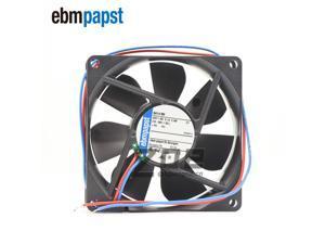 Ebmpapst 8414NH DC Fan Axial Ball Bearing 24V 18V to 26V 46.5CFM 37dB 80 X 80 X 25.4mm High Speed Cooling Fans