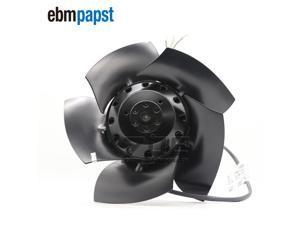 Ebmpapst A2D210-AB10-05 AC Fan Ball Bearing 200V 0.33A/0.31A 64W/86W 2700RPM/3050RPM Cooling Fans For Siemens Servo Spindle Motor