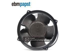 Ebmpapst W1G180-AB47-01 EC Diagonal DC Compact Fan 48V 200x70mm Round 544.4CFM 100W 69dBA Wire Leads For Emerson Inverter
