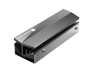 Jonsbo M.2 NVME Cooling Heatsink M2 2280 SSD Solid State Hard Disk Heat Dissipation Cooler for M2 Desktop PC Thermal Gaske