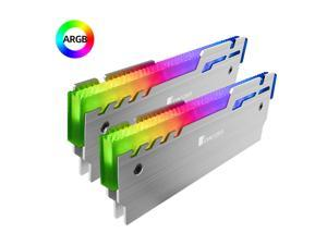 2 Pieces JONSBO 5V ARGB RAM Memory Heatsink Cooling Vest Aluminum Desktop PC RAM Cooler Radiator