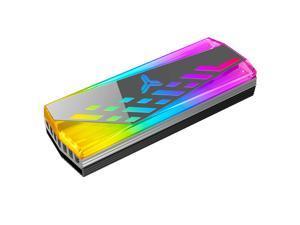 JONSBO M.2 2280 SSD Heatsink Aluminum ARGB Radiator Arua Sync