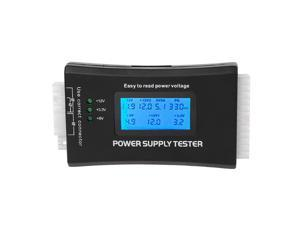 Digital LCD Display PC Computer Power Supply Tester Backlight 4pin 8pin Power Checker ATX Measuring Tester