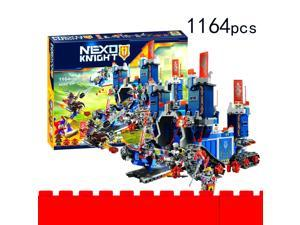 Future Knights High-tech Mobile Fortress Castle Building Block Toys