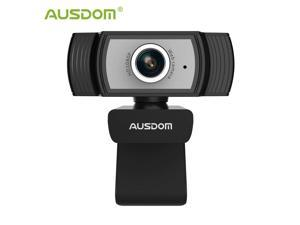 AW33 Full HD 1080P Webcam with Noise Cancelling Mic and Manual Focus Web Camera For Skype Facetime PC  Computer Camera