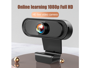 Web Cameras 1080p HD Built-in Mic USB Webcam Office Caring Computer Supplies for Video Conference Live Stream