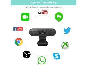 Hd 1080 P Megapixel Usb 2.0 Webcam Camera With Microphone For Computer Computer Laptop Usb Web Camera Hd Webcams