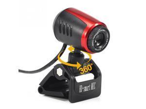 Webcam Microphone USB 2.0 Web Cam For Computer Laptop Video Meeting Tele camera PC Camera 360 Degrees Digital Video Webcam