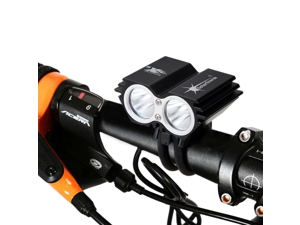 Super Bright 1600lm T6 LED Bike Cycling Headlight Front Lights USB Rechargeable