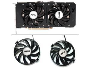 FDC10U12S9-C 12v 0.45AMP PC Cooling For XFX R9 380X R7 370 Radeon R9-380X R7 370 Grahics Card As Replacement GPU Cooling fan