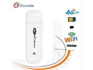 Delaman WiFi Modem Portable USB WiFi Adapter Modem Wireless Network Card High-Speed 4G-LTE Network Mobile Broadband