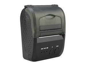 ZJ-5809 Printer, 58mm Mini Portable Bluetooth Thermal Printer with 2000MAH Battery Ticket(US Plug)