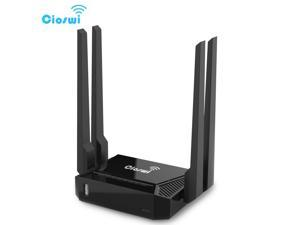 WiFi 300Mbps Router WiFi For 3G 4G USB Modem openWRT Mobile Hotspot 4 LAN RJ45 Port omni 2 Wireless Router omni II Firmware