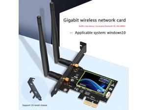 2974Mbps Wireless Wifi Adapter WIfi 6 AX200 PCI-E Adapter 2.4G/5Ghz Bluetooth 5.0 Wi-fi Receiver Antenna Network Card