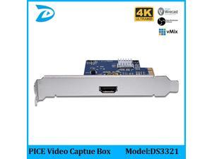 1080p HD Video via HDMI Connection PCIE Capture,Linux Hdmi Video Capture Card On PC,PCI-EXPRESS Full 4K capture card