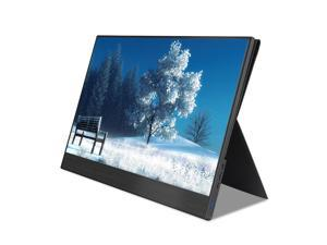 4K Portable Monitor, 3840 x2160 Ultra Slim IPS LCD Display With HDMI Type C For Computer Laptop PS4  Game Player
