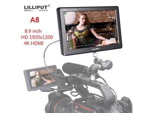 A8 8.9 inch Monitor for DSLR Camera Utra Slim IPS Full HD 1920x1200 4K HDMI 3D-LUT On-camera Video Field Monitor