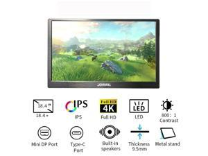 18.4 inch Full HD Type-C 4K 3840x2160  Portable Display 17.3/15.6/13.3 for Raspberry pi Switch PS3 Xbox Computer LCD Monitor