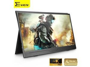 4K 3840 x 2160 Portable Monitor for PlayStation 3 Ghost Recon 15.6 inch USB C IPS 1000:1 Display Laptop External Screen
