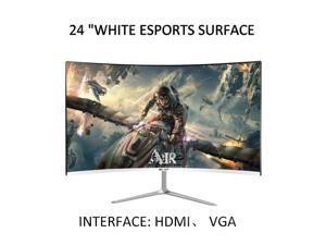 "24 ""/27"" /32 ""Curved HD Computer Monitor 144Hz Display 4K Display ESPORTS Display HD Resolution 16.7 Million Natural Colors"