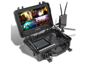 """BM120-4KS New 12.5"""" 3840x2160 4x4K HDMI 3G-SDI in&Out Broadcast Director Monitor with HDR,3D-LUT,Color Space"""
