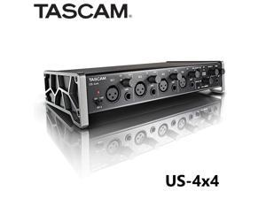 Tascam US-4x4 US4x4 4-channel  audio MIDI interface computer audio interface sound card professional for studio