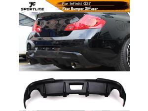 Car Rear Bumper Lip Diffuser Spoiler for Infiniti G35 G37 Base Sedan Journey Sedan 4D 2010 2011 2012 2013