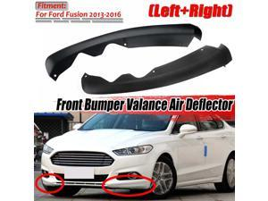Front Lower Bumper Valance Air Deflector Splitter Lip Diffuser Spoiler For Ford For Fusion 2013-2016 DS7Z17626AB DS7Z17626AA