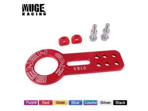 Hook Hitch Aluminum Universal Racing Rear Front Trailer  Hook Ring Style Car Accessories Decoration TH001
