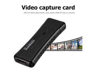 USB 2.0 to HDMI Video Capture Card Adapter Converter Video and TV Tuner Cards for Windows 10 8 7 XP Vista Computer