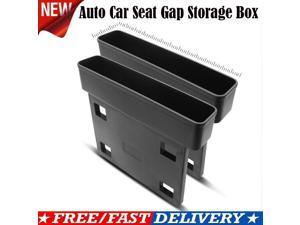 1pc Auto Car Seat Gap Storage Box Organizer Cup Drink Crevice Pocket Stowing Holder