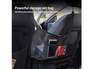 Mesh Organizer,Seat Back Net Bag Barrier of  go Tissue Purse Holder Driver Storage Netting Pouch Storage Automotive Goods