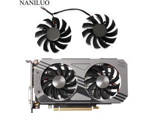 75MM PLD08010S12HH 000 0.35A GTX1060 Cooler Fan For ZOTAC GeForce GTX 1060 3GB AMP! Edition Video Card Cooling Fan