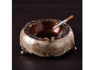 Art Retro Ashtray Creative Resin Decoration Luxury Home Office Car High-end Ashtray Home Decoration for Boyfriend Gift