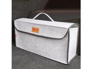 Trunk Organizer Durable  Storage Bag go Container Box Fireproof Stowing Tidying Holder Multi-Pocket  Accessories