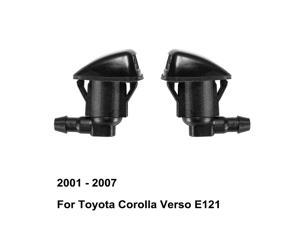 Windshield Washer Nozzle 85381AE020 85381-AE020 for Toyota Corolla Verso E120 ( 2001 - 2007 ) ( Pack of 2 )