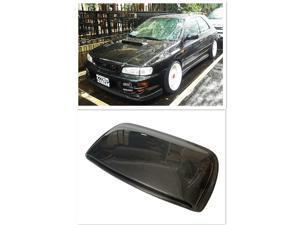 Real Carbon Fiber Scoop Bonnet Hood Vents Kit Cold Air Intake For Subaru Impreza WRX STI 5TH 6TH GC8, GF8 1998-2001 99 2000