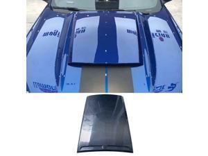 Fiber Front Hood Bonnet Scoop Fit For 2014-2016 Mustang Roush Hood Scoop